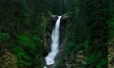 Barskoon Waterfall - Bishkek - Kyrgyzstan - Silk Road Travel - A Central Asia Overland Trip - A World to Travel