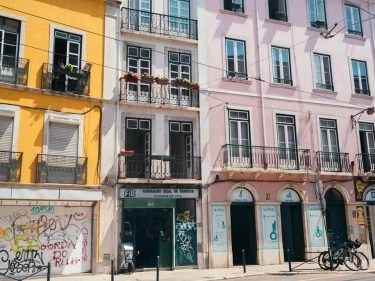 Colorful houses - Things To Do In Lisbon in 72 Hours - A World to Travel