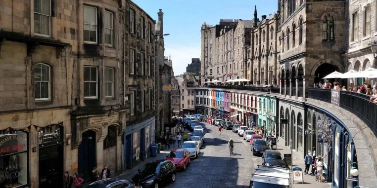 Diagon Alley 1 - How To Make The Most Of 2 Days In Edinburgh - A World to Travel