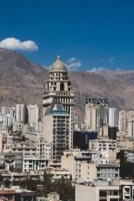 Esfandiar Boulevard - Tehran - Iran - Silk Road Travel - A Central Asia Overland Trip - A World to Travel