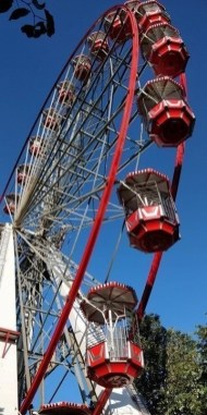 Festival Wheel 1 - How To Make The Most Of 2 Days In Edinburgh - A World to Travel