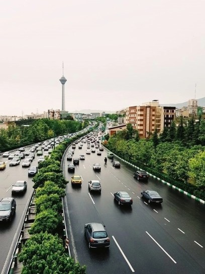 Hakim Expressway - Tehran - Iran - Silk Road Travel - A Central Asia Overland Trip - A World to Travel