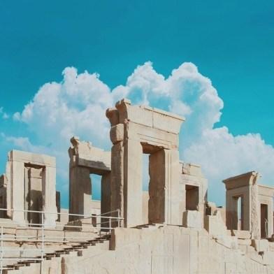 Persepolis - Shiraz - Iran - Silk Road Travel - A Central Asia Overland Trip - A World to Travel