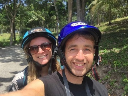 Renting a motorbike - Fun Things To Do In Koh Phangan Island Thailand - A World to Travel