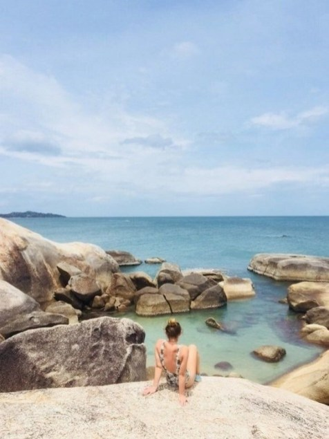 Rocks on a beach - Fun Things To Do In Koh Phangan Island Thailand - A World to Travel