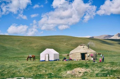 Song Kul - Kyrgyzstan - Silk Road Travel - A Central Asia Overland Trip - A World to Travel