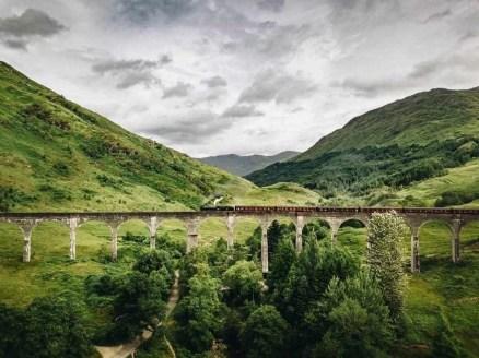 Glenfinnan bridge - Fun Things To Do In Scotland - A World to Travel