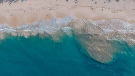 Punta Cana drone shot - Best Beaches In Dominican Republic Road Trip - A World to Travel