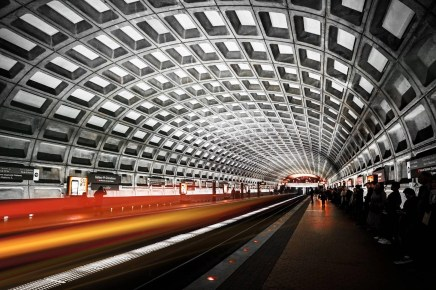 Washington DC Metro station - Photography spots in Washington DC - A World to Travel