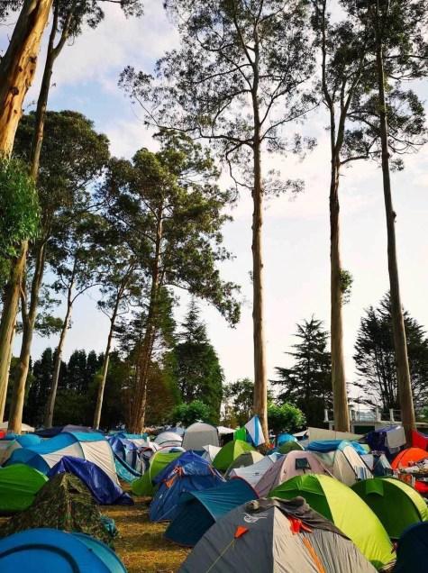 Camping area A - Covas Viveiro