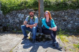 Resting during the Finisterre camino - A World to Travel
