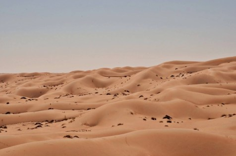 Sand dunes - Things to do in Oman - A World to Travel