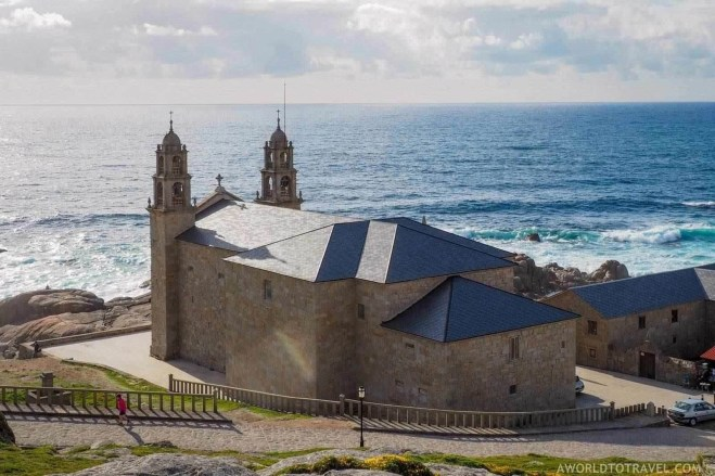Santa Maria da Barca Sanctuary in Muxia - A World to Travel