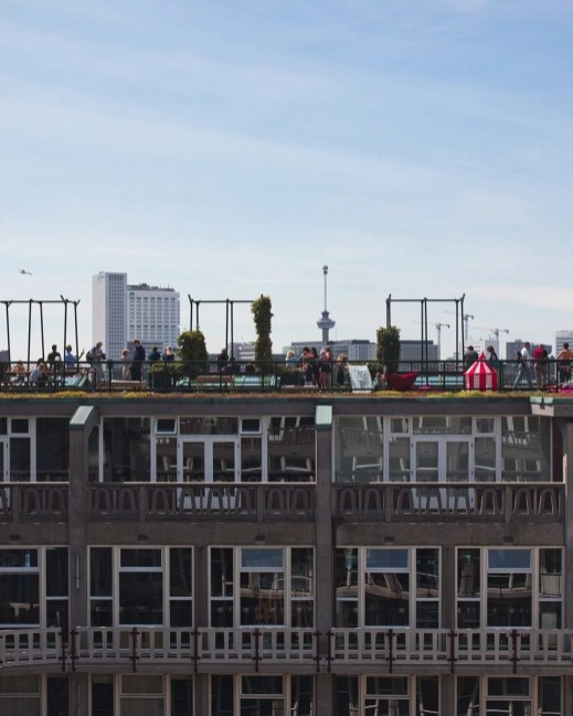 Rooftop life - Modern Dutch architecture - A World to Travel