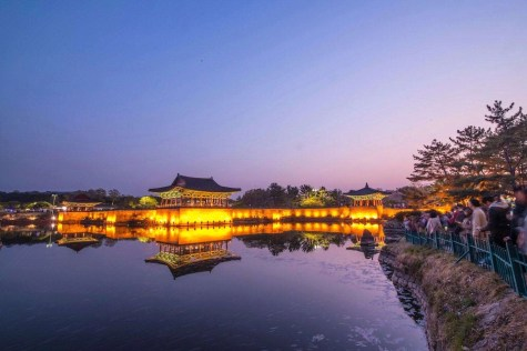 Wolji Pond - What to do in South Korea - A World to Travel