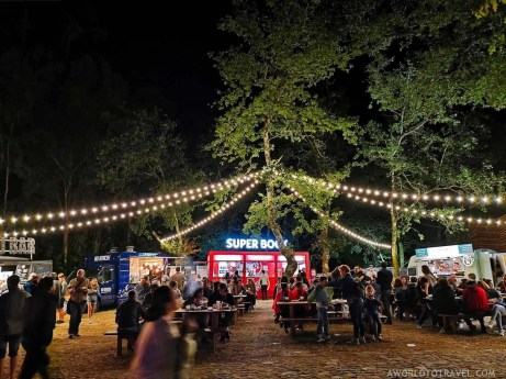 Festival grounds (2) - Vodafone Paredes de Coura music festival 2019 - A World to Travel
