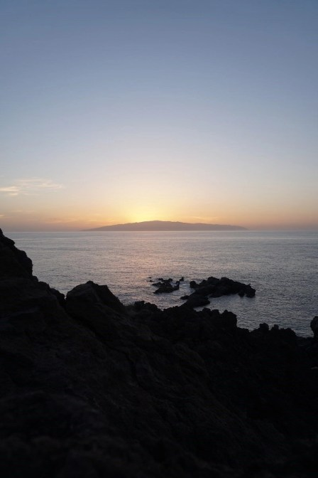 La Gomera at sunset - Islas Canarias - A World to Travel