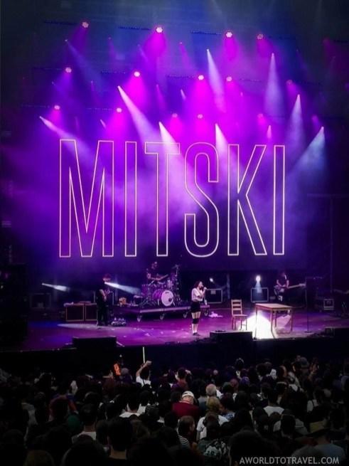Mitski (10) - Vodafone Paredes de Coura music festival 2019 - A World to Travel