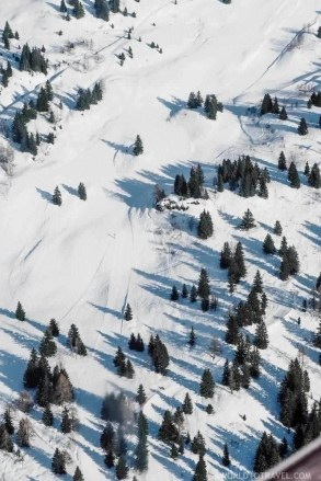 Aerocime flights over the French Alps Mont Blanc Mar de Glace - Megeve - A World to Travel (3)
