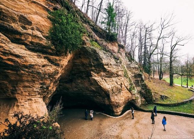 Gutman's cave - Sigulda Latvia - A World to Travel (2)