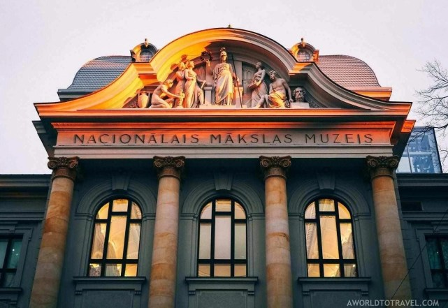 Latvian National Museum of Art in Riga - A World to Travel (5)