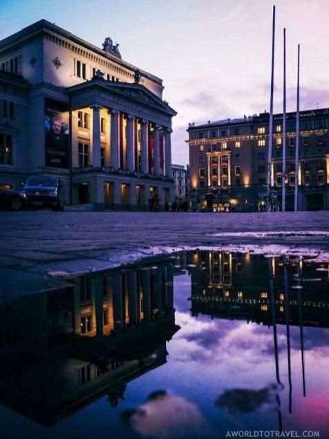 Latvian National Opera in Riga - A World to Travel (1)