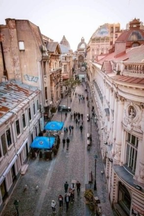Bucharest historical old town - What to do in 48 hours in Bucharest