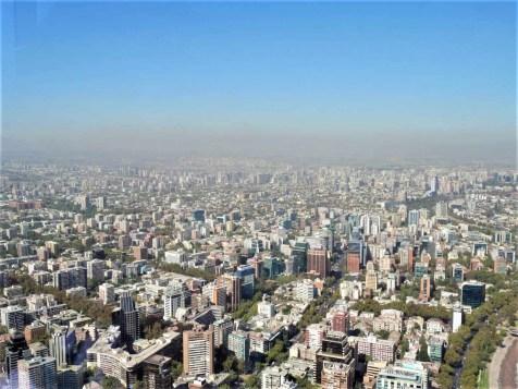 3 Sky Costanera View of Santiago