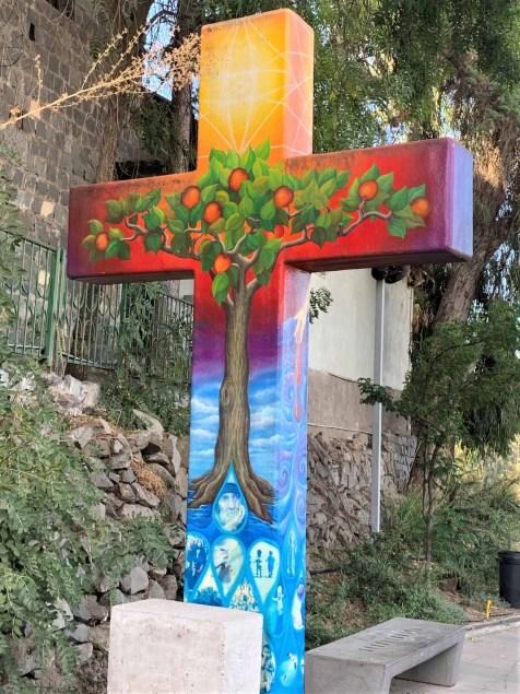 6 San Cristobal Painted Cross 1