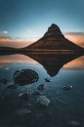Kirkjufell reflections, Iceland