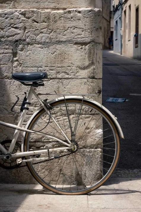 Bike in Alcudia Old Town, Alcudia, Spain
