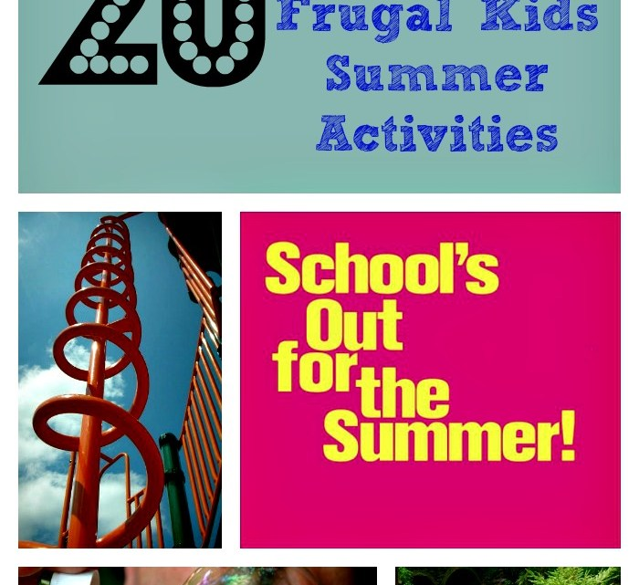 Fun & Frugal Summer Activities for Kids