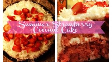 Summer Strawberry Coconut