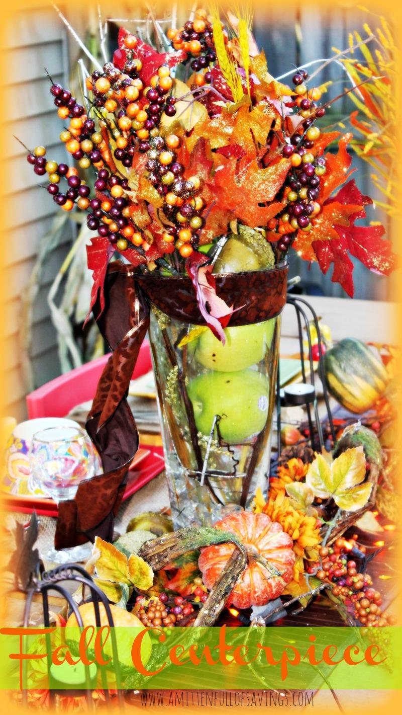 fall centerpiece idea