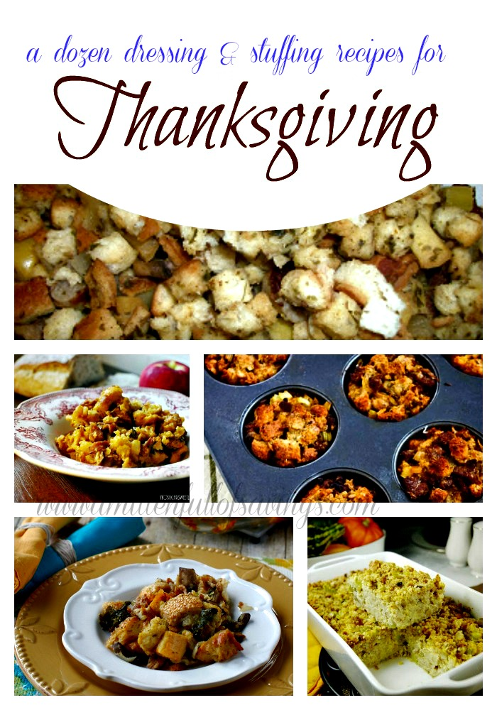 dressing and stuffing recipes for thanksgiving