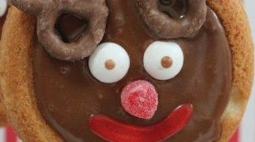 Rudolph Cookie Pops- Christmas Kid Dessert