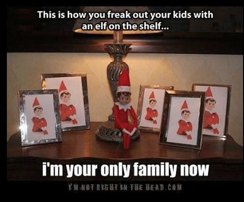 All the elf on the shelf photos