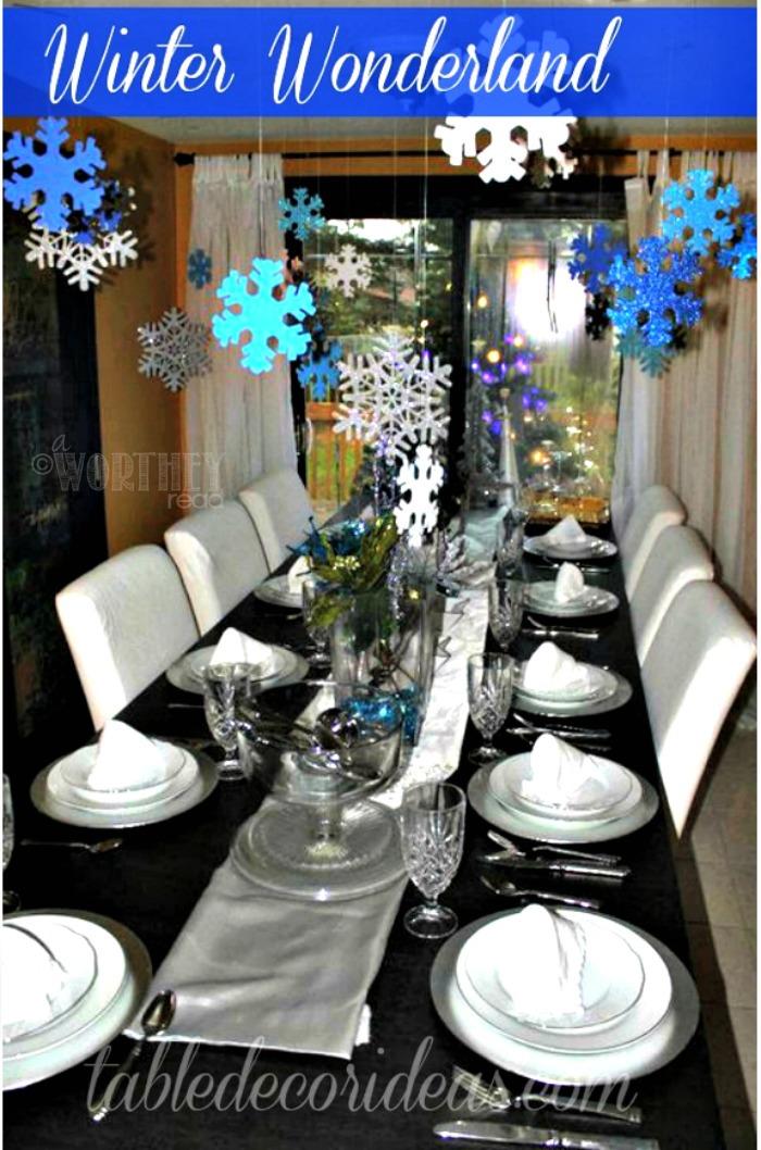Winter Wonderland Party Decor Ideas