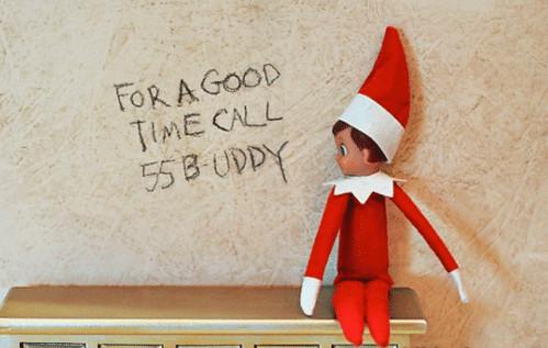 Call Buddy the Elf for a good time - Elf on the Shelf ideas