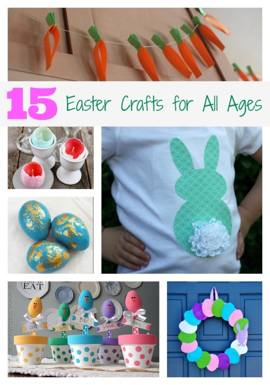 15 Easter Crafts for All Ages