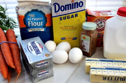 ingredients for Recipe for Carrot Cake Cupcakes.jpg