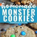 Cookie Monster Cookies recipe idea
