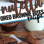 Nutella Oreo Brownie Bites