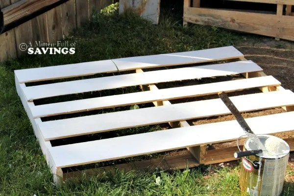 diy pallet patio bar. Painting Diy Bar Pallet Patio