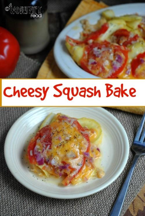 recipe for cheesy squash bake