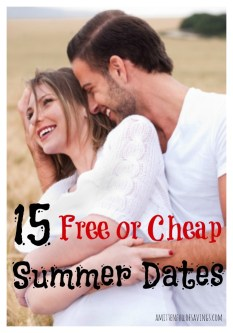 15 Free Or Cheap Summer Dates