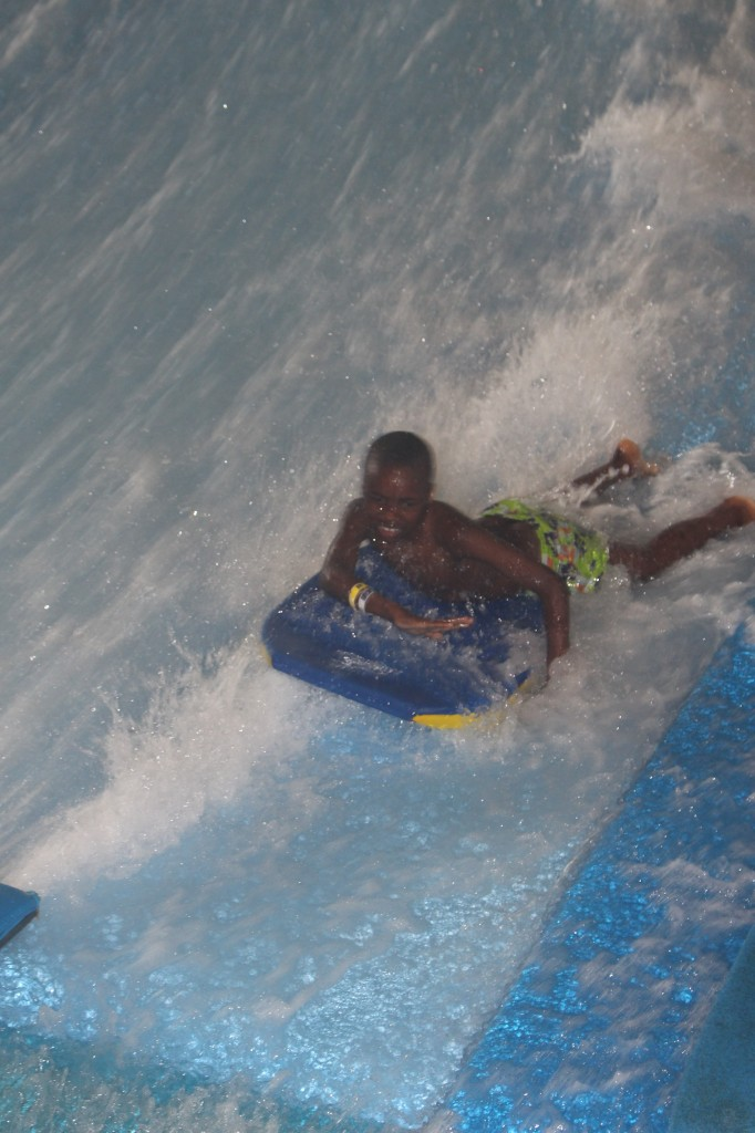 zaydn riding the waves