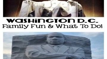 family travel, going to washington DC on a budget