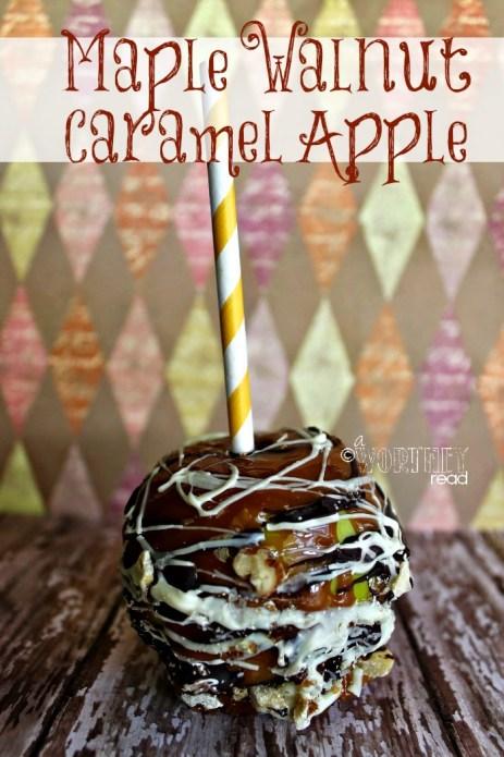 Maple Walnut Caramel Apple recipe