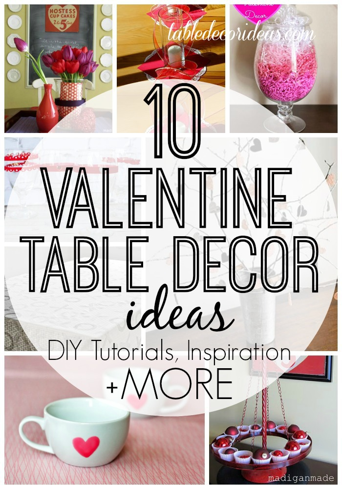 Easy valentine 39 s day decor ideas for Table design for valentines day